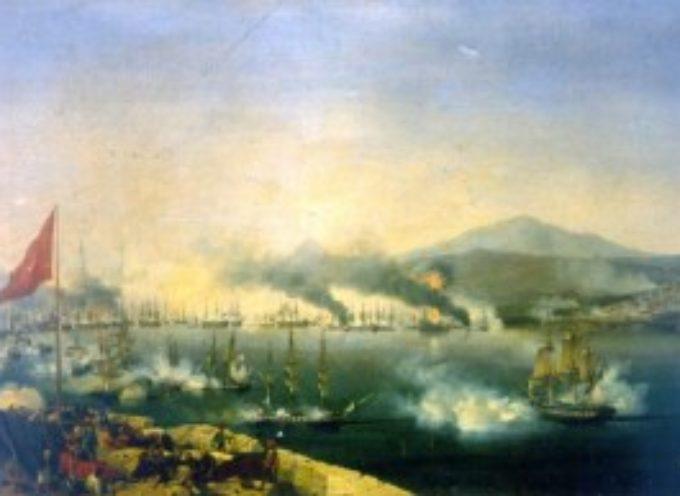 accadde oggi, 20 ottobre la battaglia di Navarrino
