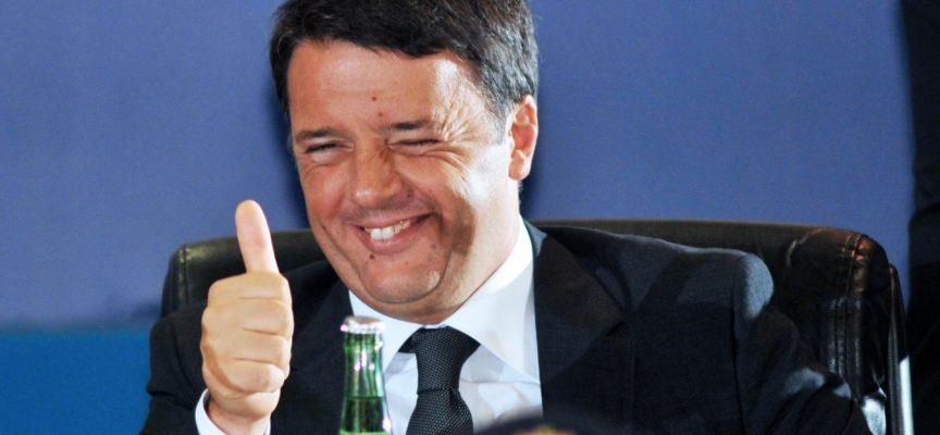 Matteo Renzi, ospite d'eccezione a Villa Bertelli