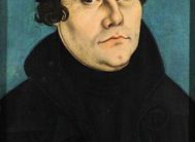 ACCADDE OGGI – 31 Ottobre 1517, Affissione delle 95 tesi di Lutero: è l'inizio della Riforma Protestante