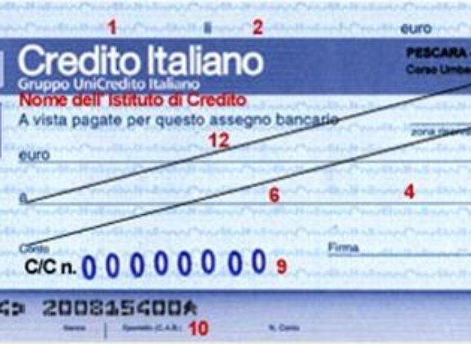 Assicurazioni. Esplode il fenomeno dei furti degli assegni spediti a mezzo posta