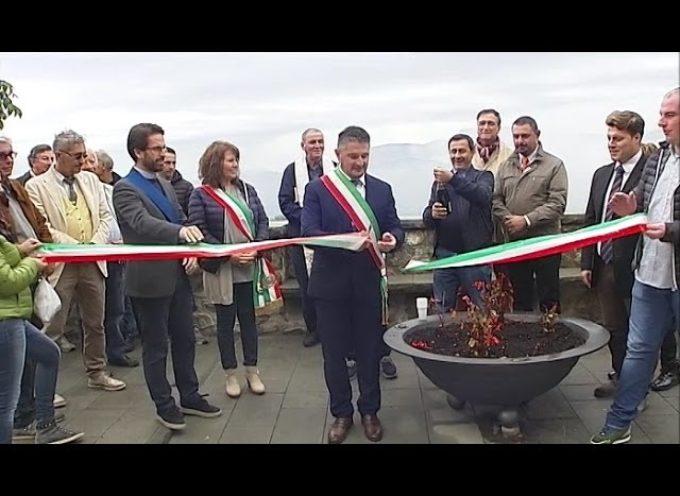 Inaugurato il nuovo belvedere di Castiglione