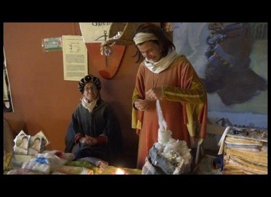 Un tuffo nel medioevo con i Balestrieri di Lucca[VIDEO]