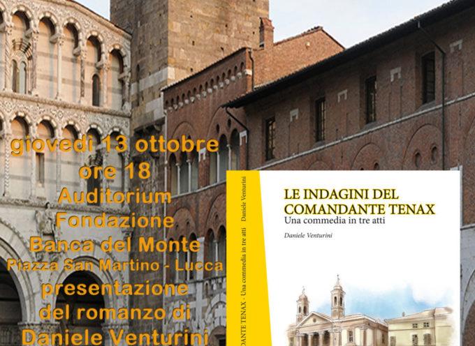 I Racconti del Comandante Tenax: il primo romanzo di Daniele Venturini