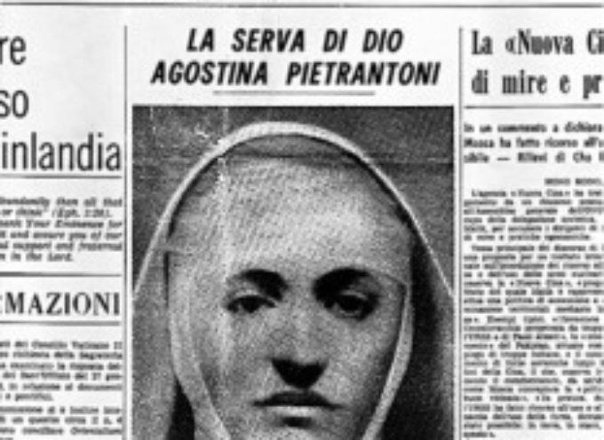 il santo del giorno 13 novembre  S. Suora Agostina Pietrantoni
