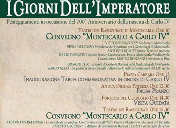 Sabato 3 dicembre, grande evento a Montecarlo.