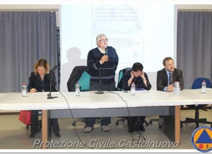 Incontro sulla sicurezza antisismica e la prevenzione. a Castelnuovo di G