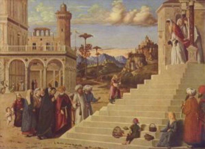 Il Santo del giorno, 21 Novembre: Presentazione della Beata Vergine Maria