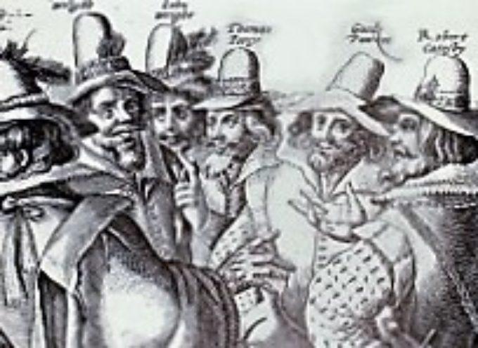 accadde oggi , 5 Novembre 1605, la Congiura delle Polveri