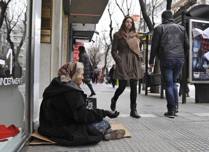DISASTRO EURO: 1 CITTADINO SU 3 VERSO LA POVERTA'