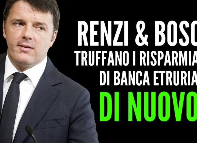 1 ANNO DALLE TRUFFE DI BANCA ETRURIA: VITTIME NON PAGATE