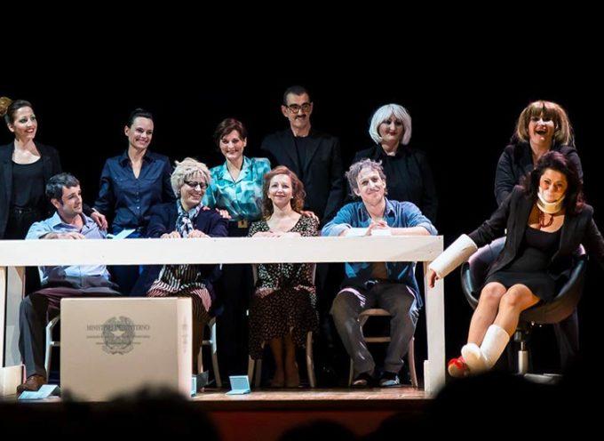 """domenica 13 novembre seconda giornata VIII Festival Nazionale """"L'Ora di Teatro"""" al Rassicurati di Montecarlo"""