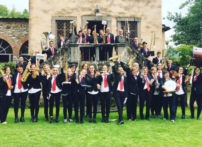 Fine settimana intenso per la Misericordia di Borgo a Mozzano e per la banda musicale Merciful band