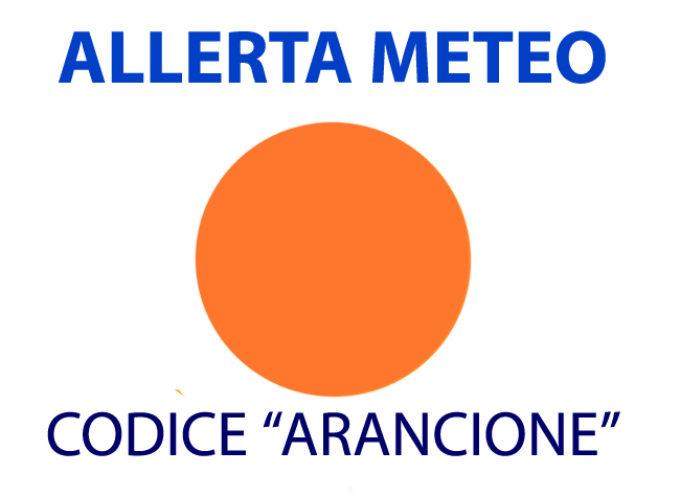 ALLERTA METEO FINO A DOMANI, CODICE ARANCIONE, PER I COMUNI DELLA PIANA