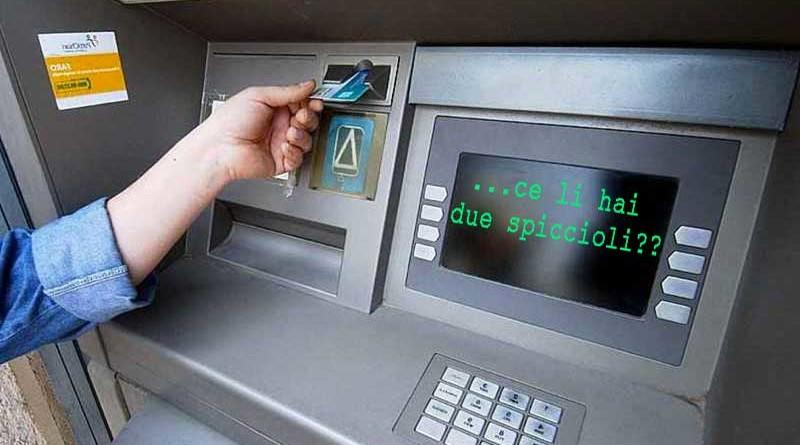 Prelievi: oltre 1000 euro scatta il controllo fiscale