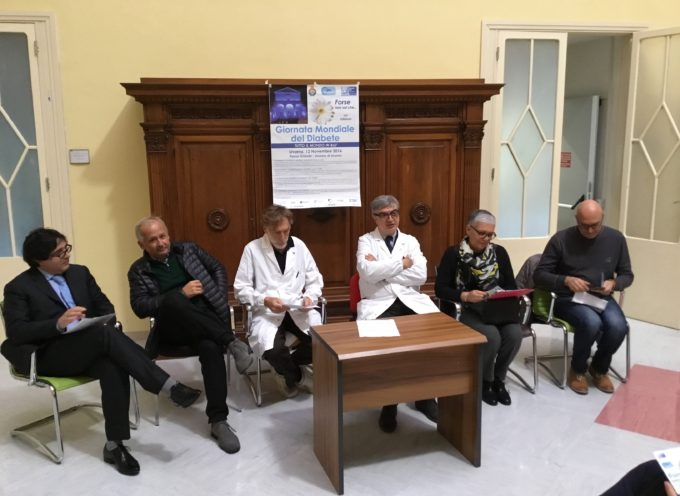 Le iniziative a Lucca per la giornata del diabete del 12 novembre 2016 – Sulle Mura insieme all'Associazione dei Diabetici Lucca
