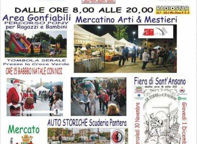 PONTE A MORIANO – RITORNA LA TRADIZIONALE FIERA DI SANT'ANSANO