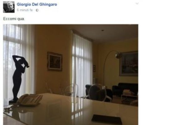 VIAREGGIO RITORNA IL SINDACO DEL GHINGARO