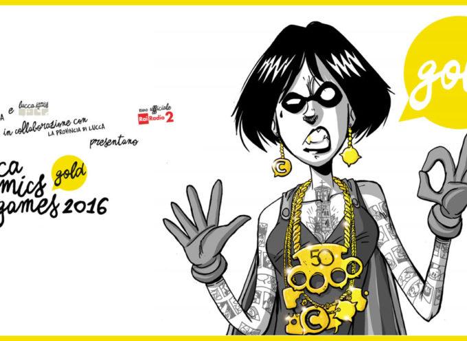 LUCCA COMICS & GAMES NUMERO 50, UN'EDIZIONE CHE E' GIA' STORIA