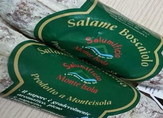 """Auchan ritira il """"SALAME BOSCAIOLO """" per contaminazione microbiologica"""