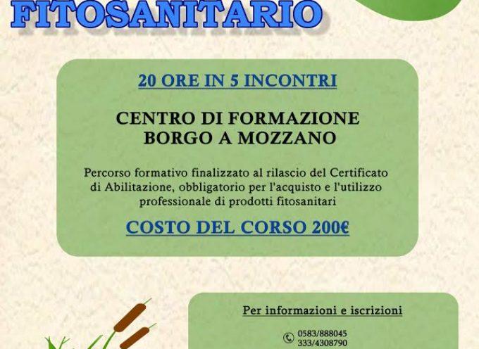 Borgo a Mozzano, a febbraio il corso per ottenere il Patentino Fitosanitario