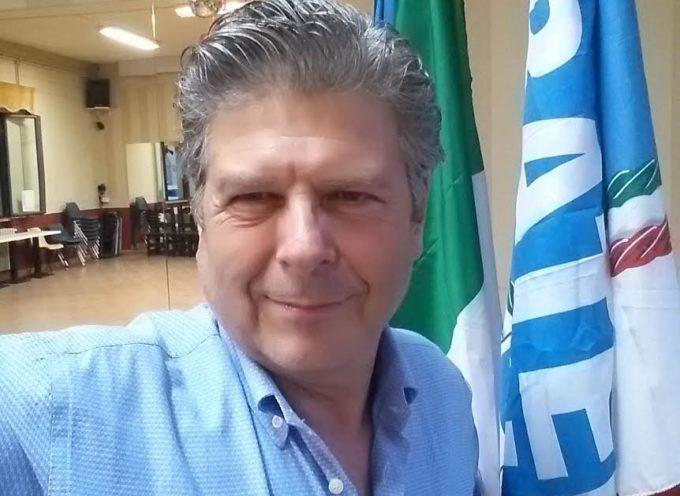 L'onorevole Achille Totaro di FDI-AN a Lucca