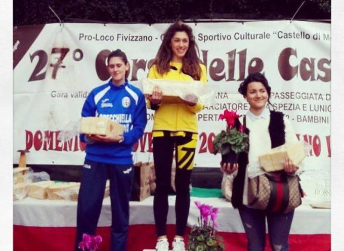 """G.S. ORECCHIELLA – Francesca Setti conquista il podio a Fivizzano. """"Eterno"""" Giuseppe Monini vince a Montale"""