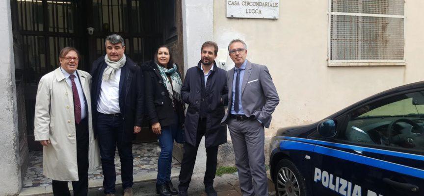 Casa circondariale Lucca: sopralluogo Commissione per verifica su condizioni detenuti