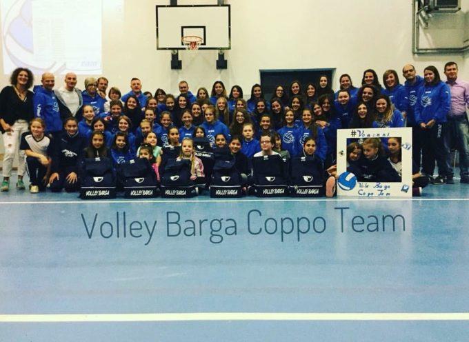 presentazione  della squadra  Volley barga