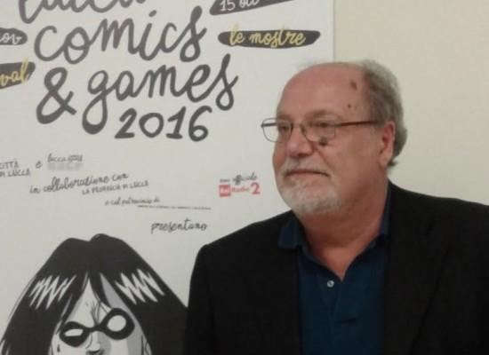 LUCCA COMICS & GAMES 2016 Il saluto del presidente Francesco Caredio