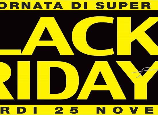 """LUCCA – VENERDI' 25 NOVEMBRE TORNA ANCHE A LUCCA IL """"BLACK FRIDAY"""