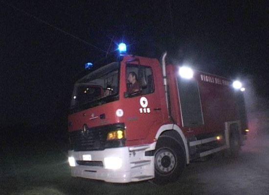 Aggiornamenti sull'incendio a Porcari (Lucca)