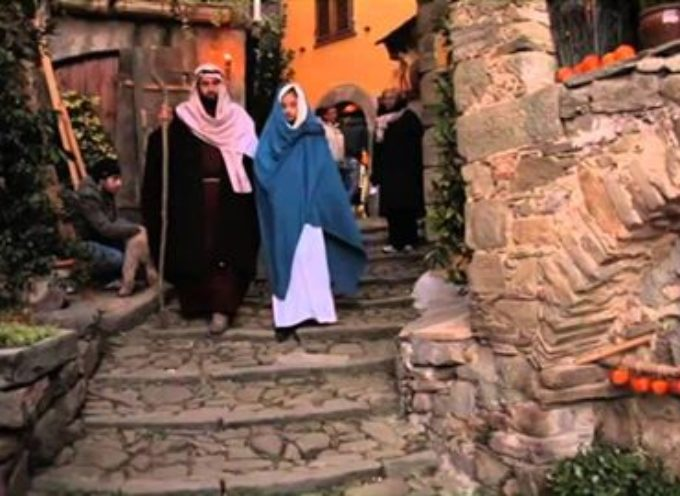 bagni di lucca – 5 edizione del presepe a pieve di monti di villa