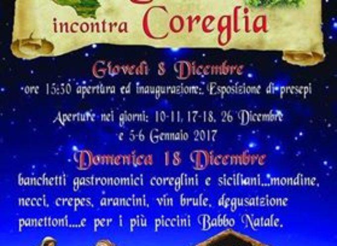 """A NATALE la """"SICILIA"""" incontra """"Coreglia"""""""