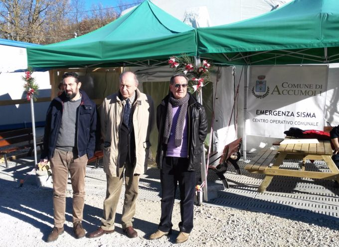 I NS SINDACI IN VISITA a ACCUMOLI
