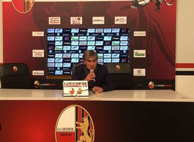 Mister Galderisi nel post partita:
