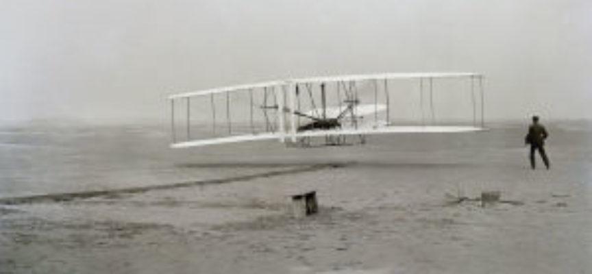 accadde oggi – 17 Dicembre 1903, il primo volo dei Fratelli Wright