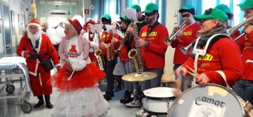 lucca – Il Natale è alle porte e in Pediatria arriva prima.