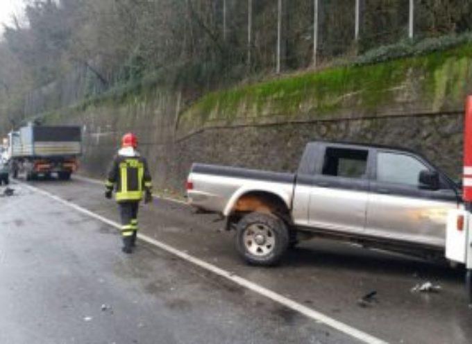 Scontro frontale sul Brennero, tre feriti