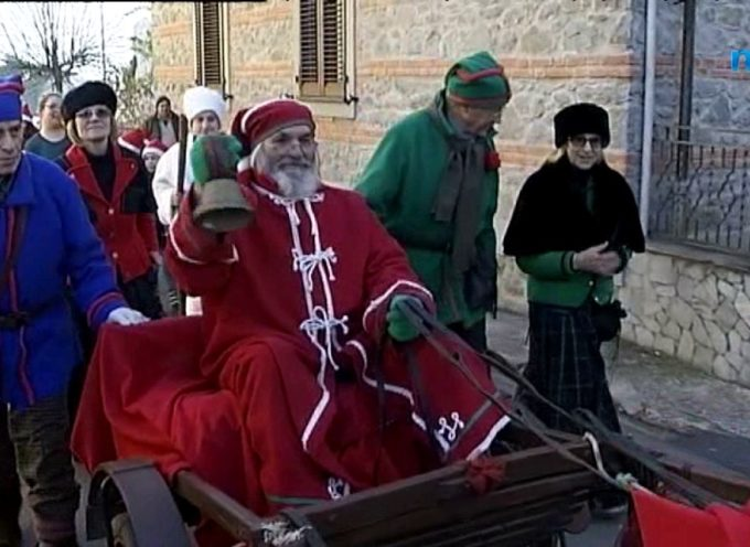 Valle del Serchio, arrivano i Babbi Natale[VIDEO]