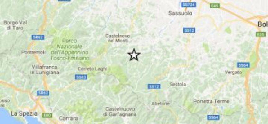 Terremoto a Reggio Emilia, avvertito anche nella Valle del Serchio