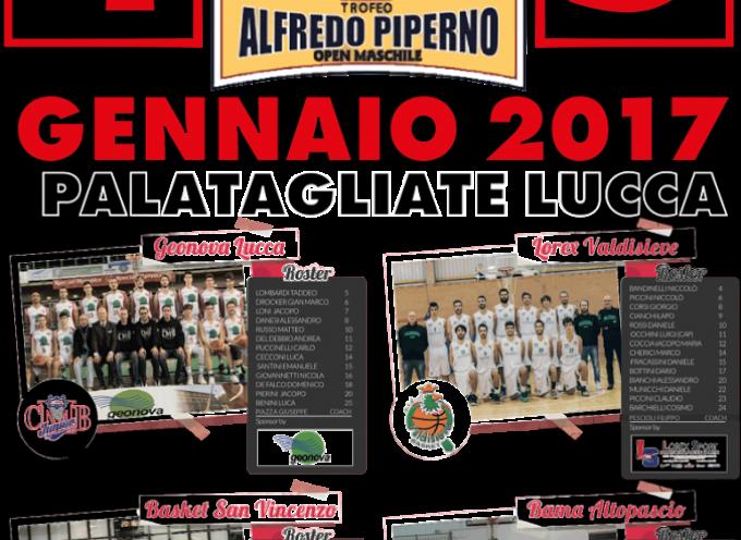 Il 4 e il 5 gennaio la Geonova Lucca organizza la Final Four di Coppa Toscana al Palatagliate