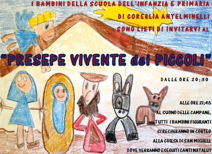 COREGLIA  ANTELMINELLI – VENERDI' IL PRESEPE VIVENTE