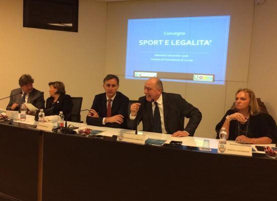 LUCCA – Sport e legalità: se ne è parlato in Camera di Commercio