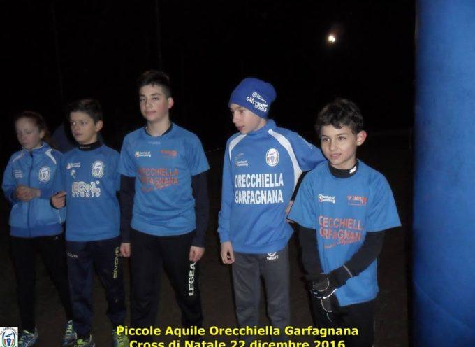 Il G.S. Orecchiella festeggia il Natale con i suoi ragazzi: cross e pizzata a Torrite