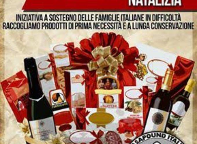 lucca – Raccolta Alimentare Natalizia, l'iniziativa di CasaPound a sostegno delle famiglie in difficoltà.