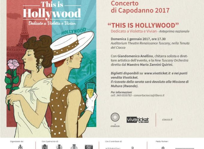 """Castelvecchio Pascoli. Disponibili gli ultimi biglietti per assistere a """"This is Hollywood, dedicato a Violetta e Vivian"""""""