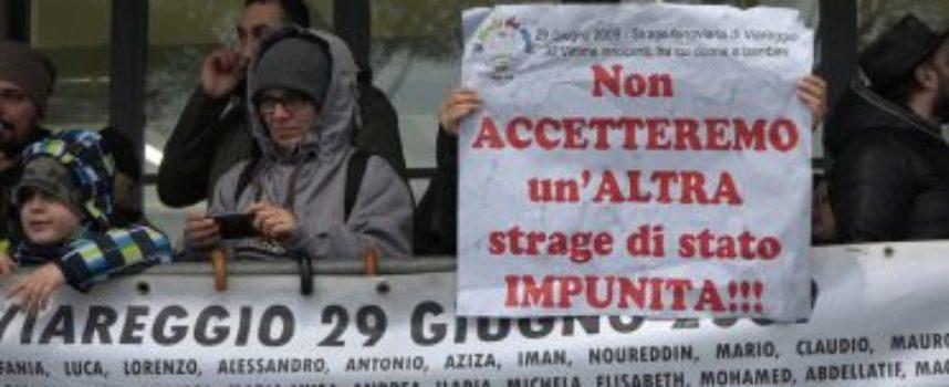 Strage di Viareggio: 7 anni a Moretti ed Elia
