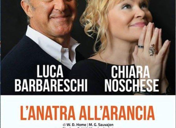 """TEATRO ALFIERI – Venerdì 13 gennaio la stagione teatrale si apre con """"L'ANATRA ALL'ARANCIA""""."""
