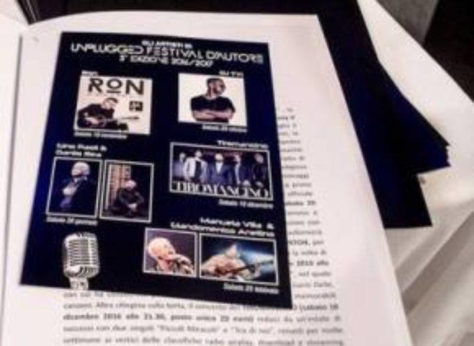Unplugged Festival d'Autore .. 25 febbraio al Ciocco