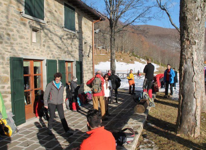Una domenica speciale sulla neve al rifugio il BURIGONE